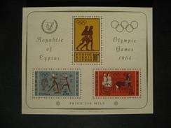 Chypre - BF 2 - Jeux Olympiques De Tokyo - Cyprus (Republic)