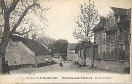 CPA Environs De Malsherbes Nanteau-sur-Essonne Route De Buno - Autres Communes