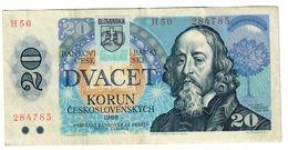Slovakia 1993 Provisional Issue 20 Korun  .J. - Slovacchia