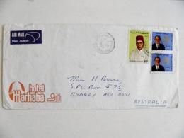 Cover From Morocco Maroc To Australia 1974 - Morocco (1956-...)