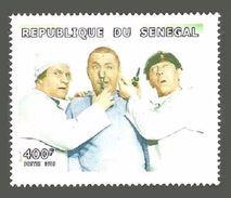 SENEGAL 1999 FILMS THE THREE STOOGES MEDICAL SINGLE MNH - Senegal (1960-...)