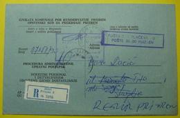 1990 RECOMMANDE JUDICAL COVER *PRIZREN To GORCE PETROV - SKOPJE* EX YUGOSLAVIA, - Mazedonien