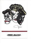 18430 -  Johnny Hallyday Par Lardie  Tirage Très Limité 03/10 - Artistes