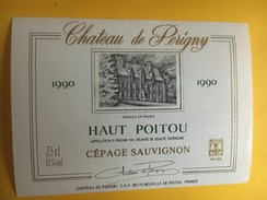 6006  - Château De Perigny 1990 Haut Poitou  Sauvignon - Autres