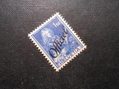 ZNr. 62 - 1.50Fr.**/MNH  - Bundesverwaltung - 1942 - Z CHF 6.50 - Dienstpost