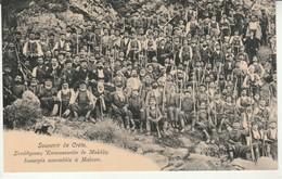Souvenir De Crete.Insurgés Assemblés à Malaxa. - Grecia