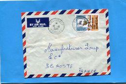 MARCOPHILIE-lettre -Sénégal>Françe Cad ZIGUINCHOR-1983--stamps -N°588 EXPOPHIL DE DAKAR - Senegal (1960-...)