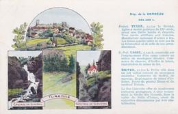 """Les Pastille Valda Departement De La Corrèze """"la France Qu'il Faut Connaitre"""" - Autres Communes"""