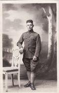 CP Photo 1920 Le Soldat Américain Ralph Capallo, Section Sanitaire (A184, Ww1, Wk 1) - Guerre 1914-18