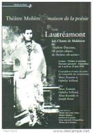 """Carte Postale édition """"Dix Et Demi Quinze"""" - Cycle Lautréamont - Théâtre Molière Maison De La Poésie - Théâtre"""
