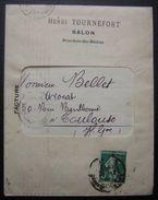 1911 Salon (Bouches Du Rhône) Henri Tournefort, Lettre Avec Jolie Facture, Voir Photos ! - Storia Postale