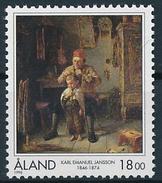 Mi 116 ** MNH Painter Karl Emanuel Jansson 150th Anniversary Painting Art - Aland
