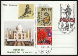 Croatia Zagreb 2011 / Philatelic Exhibition INDIPEX, New Delhi - Exposiciones Filatélicas