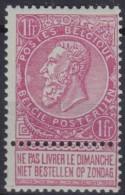 Belgie  .   OBP   .   64    (3 Scans)      .   **   .   Postfris ZONDER  Charnier .   /    .  Neuf  SANS  Charniere - 1893-1900 Thin Beard