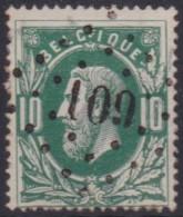 Belgie  .   OBP   .    30    .    (2   Scans )     .   O   .   Gebruikt  .   /    .   Oblitéré - 1869-1883 Léopold II