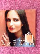 AZZURA  AZZARO - Perfume Cards
