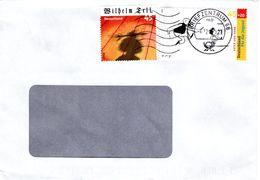 Auslands - Brief Von Briefzentrum 68 Mit 45 Cent Jugend + 45 Cent Wilhelm Tell 2017 - BRD