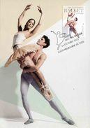 """Entier Postal De 2012 Sur CP Avec Illust. """"50 Ans De L'Australian Ballet"""" - Au Verso Timbre Oblit  PJ  16 Oct 2012 - Tanz"""