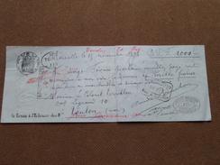 Reçu / Mandat / Ordre Soc. Marseillaise > Felix Abram ...... - Anno 1893 Marseille ( Zie/voir Foto's Voor Detail ) ! - Lettres De Change
