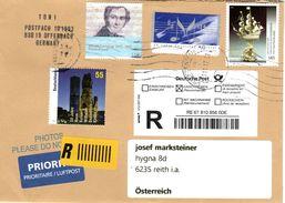 Auslands - Rekobrief Von Briefzentrum 60 Mit 400 Cent Mischfrankatur 2017 - BRD