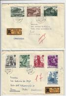 MG52) AUSTRIA -Storia Postale 1959-62  Lotto 7 Raccomandate Viaggiate - 1961-70 Storia Postale