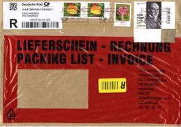 Auslands - Rekobrief Von Briefzentrum 85 Mit 400 Cent Mischfrankatur 2017 - BRD