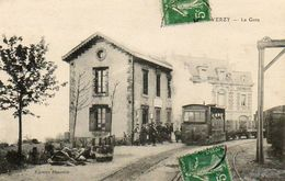 CPA - VERZY (21) - Aspect Du Train Entrant En Gare ,le Wagon Chargé De Futailles De Champagne En 1915 - Verzy