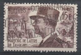 France, Jean De Lattre De Tassigny, French Military Commander, 1952, VFU - France