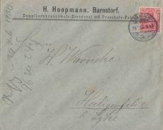 DR Brief EF Minr.56 Plf.XXVI Kleine Warze In Der Rechten 0 Links Unten Barnstorf - Briefe U. Dokumente
