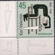 2007 Allem. Fed. Deutschland Germany Mi. 2610 **MNH   EOL 125. Geburtstag Von Karl Valentin. - BRD