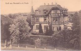 ALTE   AK   NEUSTADT A.d. Aisch /  Bay.  - Teilansicht -  Ca. 1915 - Allemagne