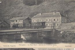 CPA 70 - FAUCOGNEY - Le PONT NEUF - ARRIVEE Du TRAMWAY - Otros Municipios