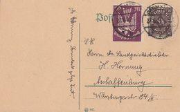 DR Karte Mif Minr.231,264 Darmstadt 27.6.23 - Deutschland