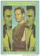 "Carte Postale ""Cart'Com"" - Série Spectacle, Film - 7e Festival Du Film (Charlton Heston) - Cinémalia Beauvais (cinéma) - Plakate Auf Karten"