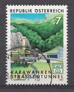 Autriche 1991  Mi.Nr: 2033 Fertigstellung Des Karawanken-Strassentunnels  Oblitèré / Used / Gebruikt - 1945-.... 2ème République