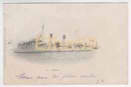 Marine Nationale, Aviso Cassini, écrite 1903 - Guerra