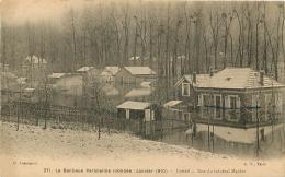 CRETEIL  INONDATIONS 1910 RUE DU GENERAL MARBOT - Creteil