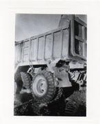 Photo ( 9,2 X 8   )  Engin Travaux Publics Camion Benne - Métiers