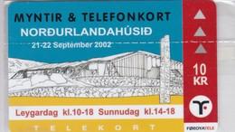 Faroe Islands, OO-002, Myntir Og Telefonkort. Mint And Wrapped, Only 1.500 Issued, 2 Scans. - Faroe Islands