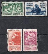 ALGERIE N°249 A 252 N* - Algérie (1924-1962)