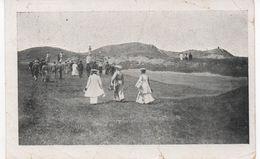 BURNHAM-ON-SEA - STROLL ON THE CLIFFS - POSTALLY USED 1914 With BURNHAM  _ S.O. RAILWAY POSTMARK - England