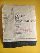 6019 - Colline De Saint-Emilion 1996 - Bordeaux