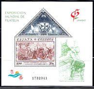 5E 738 // EDIFIL 3195 (Y&T BLOC  50)  // 1992 - Blocs & Hojas