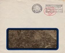 Brief  Ab Zürich 28.IX.1932 Werbestempel: Schweizerwoche - Affranchissements Mécaniques