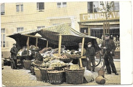 Ostend NA55: At The Fruit Market 1907 - Nieuwpoort