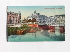 Romania 344 Temesvar Hunyadi Strasse Bridge 1917 Nr 410 - Romania