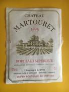 6027 - Château Martouret 1996 Bordeaux Supérieur - Bordeaux