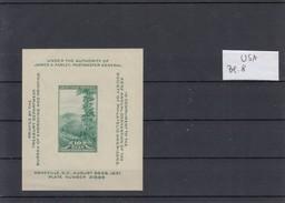 USA / United States Of America, 1937, Block 8 / MNH - Blocchi & Foglietti