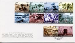 NEW ZEALAND -    2006 The 75th Anniversary Of Hawke's Bay Earthquake   FDC1167 - FDC