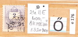 Stamps Worthy Of The Hungarian Border, Letters Starting With Letter Ő, 1 Pieces (e 176) - Oblitérés